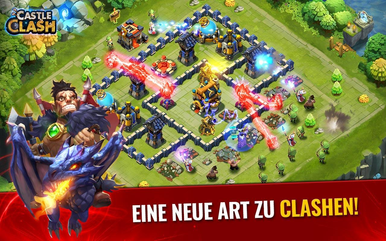 Screenshots of Castle Clash: Ära der Bestien for iPhone