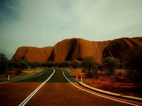 Photo: Ayers Rock en Australie