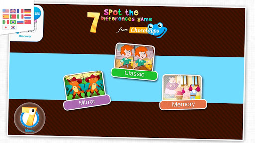 7 differences game