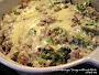 Hamburger, Sausage, Broccoli Alfredo - Low Carb Recipe