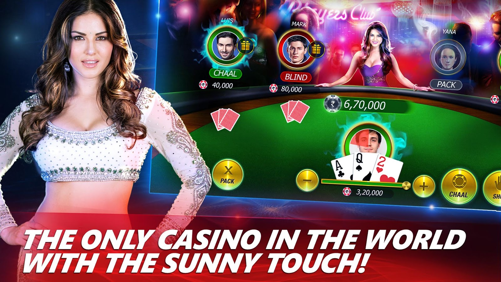 Teen Patti with Sunny Leone- screenshot