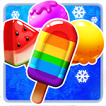 Ice Cream Frenzy Frozen Icon