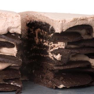 Chocolate Icebox Cake with Mascarpone and Blackberries