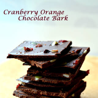 Healthy Cranberry Orange Chocolate Bark, and An Exciting Giveaway!.