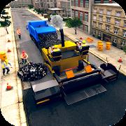 City Highway Road Construction Simulator Game APK for Bluestacks