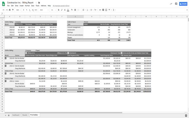 BeeBole Timesheet for Google Sheets - G Suite Marketplace