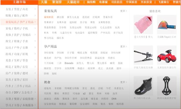 Магазин Taobao