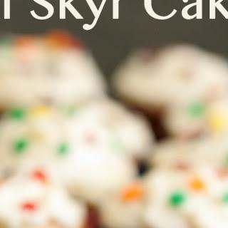 Mini Skyr Cakes with Birch Liqueur and Coffee Vanilla Buttercream