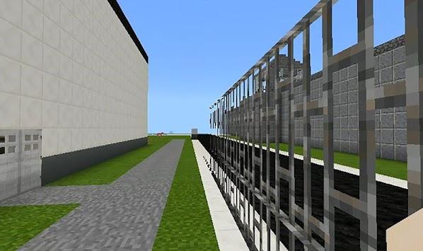 Escape from roblox prison life map for MCPE