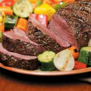 Herbed Beef Tenderloin.