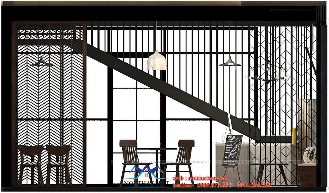 thiết kế quán trà sữa cafe và siêu thị 13