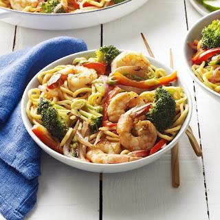 Shrimp Lo Mein.