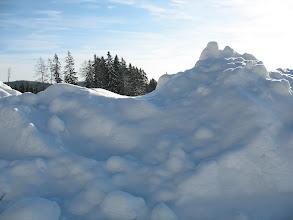 Photo: 08.Góry śniegu na poboczach.