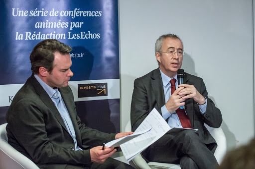 Club Les Echos Débats avec Luc Oursel, Président du Directoire AREVA