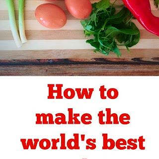 World's Best Omelette.