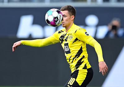 Thorgan Hazard geeft lekkere assist waardoor Dortmund nipt wint van Leipzig