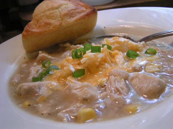 Dee Dee's Chicken Chili With White Beans Recipe