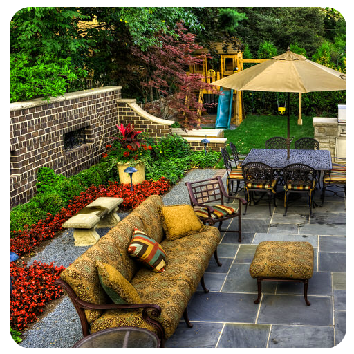 30+ Backyard Patio Ideas 遊戲 App LOGO-硬是要APP