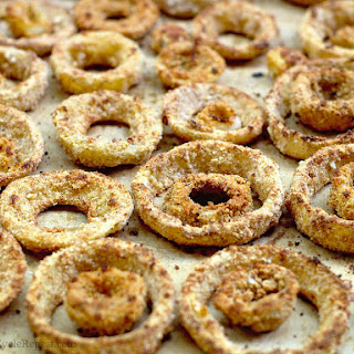 Healthy, Baked Onion Rings