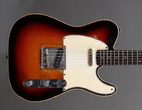 M.B. Guitars 59-T Sunburst Double Bound