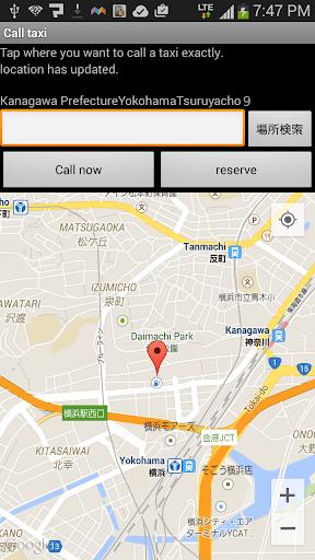 Japanese Taxi search Takuru