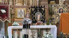 Lectura del pregón a cargo de Rosa María Pérez.