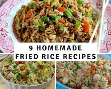 9 Homemade Fried Rice Recipes