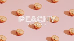 Peachy Tutorials - YouTube Channel Art item