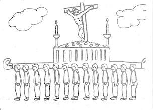 Photo: trono crucificado