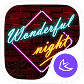 Stylish Night theme for APUS