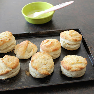 Two Ingredient Cream Biscuits