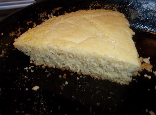 This is not a real thick cornbread. It's the thickness my husband prefers.