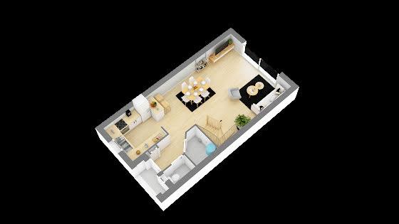 Vente maison 4 pièces 85,88 m2