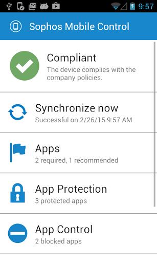 Sophos LG Plugin screenshot 1