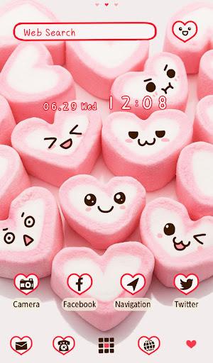 Marshmallow Hearts +HOME Theme 1.0.0 Windows u7528 5