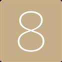 카카오톡테마 - 심플, 샴페인골드 icon