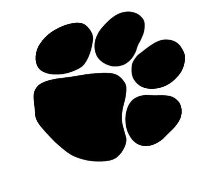 Image result for jaguar paw prints vector