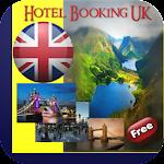 UK Hotel Booking Icon