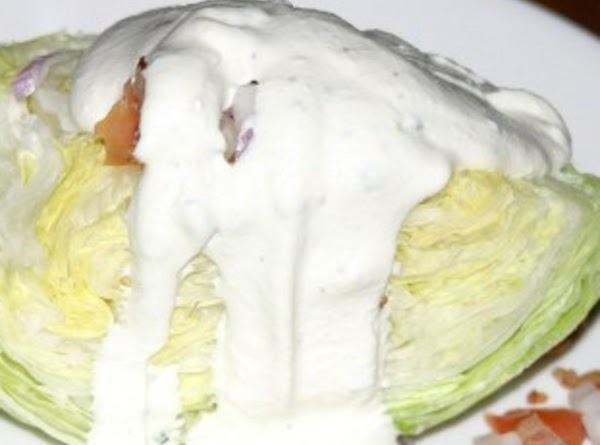 Chicken Lettuce Wedge Salad Recipe
