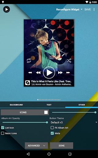 Poweramp Full Version Unlocker app for Android screenshot