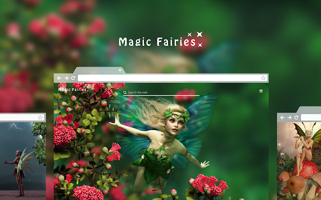 Magic Fairies Hd Wallpaper Theme