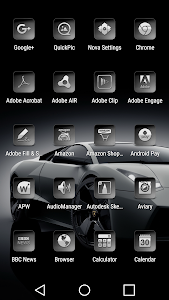 Bacca Gray - Icon Pack screenshot 1
