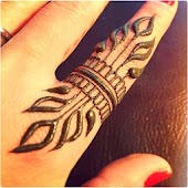Latest Finger Mehndi Designs
