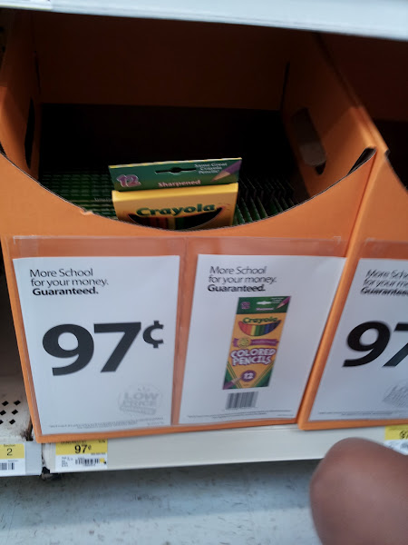 Photo: I love how low the prices are on supplies when its back to school....its my favorite time to shop