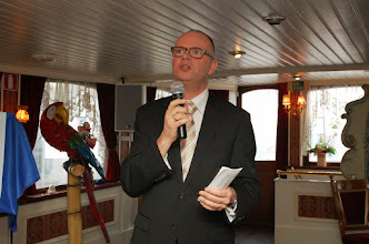 Photo: Wethouder Hans Krieger aan het woord