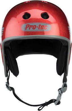 Pro-Tec Full Cut Helmet: Red Flake alternate image 3