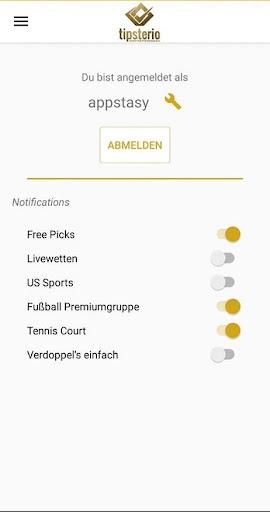 Tipsterio - Dein Sportwettenmagazin screenshot 2