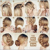 Women Hairstyle steps