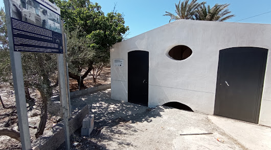 Huércal mejora los accesos y el entorno del lavadero de Los Peñoncillos