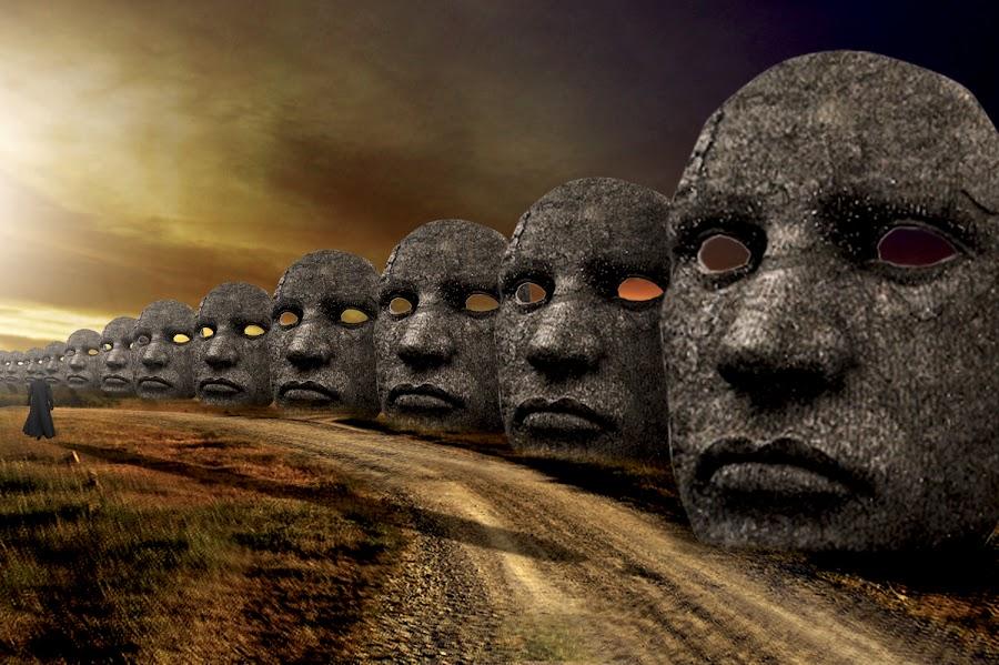 pergilah dengan rasa malumu itu by Rudiey TaButi - Digital Art Abstract